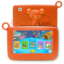 """Kids 7"""" Tablet PC 8GB Android Wifi Quad Core Educational Apps Best Gift Orange"""
