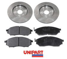 For Vauxhall - Insignia (D40 R51) 2x Rear Brake Discs & Pads Set Unipart