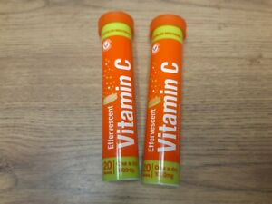 Effervescent High Strength Vitamin C 40 x Tablets Orange & Lime Flavour 1000mg