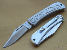 ROUGH RIDER LOCKBACK FOLDING KNIFE WITH POCKET CLIP & **RAZOR SHARP** BLADE