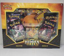 Pokemon Hidden Fates Raichu Gx Box - New Factory Sealed
