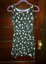 Brandy Melville black sunflower Yuria dress ONE SIZE USED