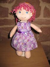 Puppenkleidung, Kleid, Stoff Puppe 30cm, neu, (ohne Haba Puppe), 1950