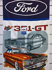 ~ Ford 351 GT XY Falcon - BATH SWIM POOL BEACH GYM TOWEL *Limited Selling Fast*