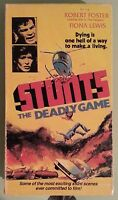 robert forster  STUNTS THE DEADLY GAME fiona lewis    VHS VIDEOTAPE