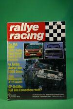 Rallye Racing 9/73 BMW 2002 Turbo Opel Kadett A 112 Abarth + Poster