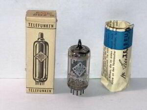 Telefunken ECC802S 12AU7 ECC82 Tube, Tested, NOS/NIB
