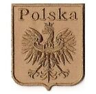 WW2 Polish White Eagle 2.5inch Patch Of Poland Military Forces Light
