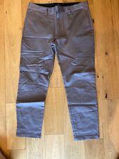 River Island Mens Sid Chino Colour Purple Medium  W32L30 RRP:£28