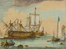 Ludolf BACKHUYSEN (1630-1708) Marine Allaert van Everdingen Hendrik Dubbels