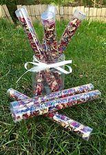 Confetti Wands Biodegradable Natural Rose Petals & Lavender Mix Eco Handmade X 5
