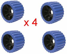 "Wobble Roller 3"" x 100mm Blue x 4"