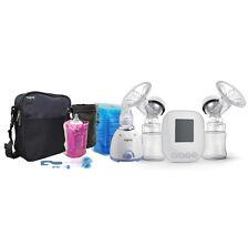 Apre 2in1 Electric Baby Bottle Warmer TWIN Breast Pump Kit & Avent Medela adapt