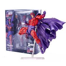 Marvel No.006 Magneto X-men Action Figure Amazing Revoltech Kaiyodo Ver Doll Toy