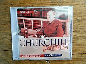 CHURCHILL CONFIDENTIAL  CD - BBC RADIO 4 - NEW & SEALED - BBC AUDIOBOOK 2008