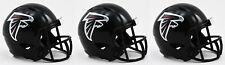 3-pack ATLANTA FALCONS NFL Football Helmet CHRISTMAS TREE ORNAMENT