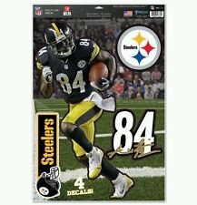 ANTONIO BROWN PITTSBURGH STEELERS 4 PIECE MULTI-USE DECALS 11X17 LIKE A FATHEAD