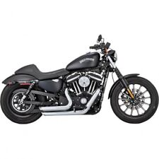 Exhaust shortshots staggered chrome - Vance & hines 17229