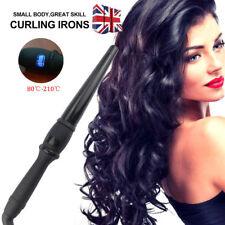 NEW hair curler Iron Digital Hair Curling Wand Styling Tong Waver ceramic UK