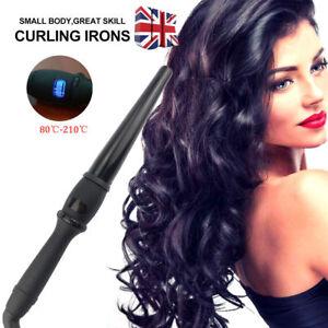 NEW Hair Curler Iron Digital Hair Curling Wand Styling Tong Waver ceramic+BOX