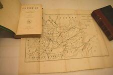 GIUSEPPE GARIBALDI di G. Guerzoni 1882 Barbera 2 volumi con Carte Topografiche