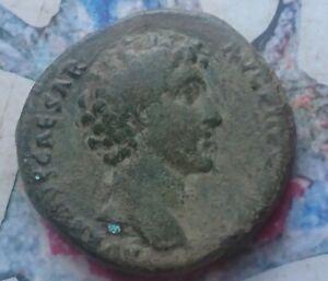 Marcus Aurelius AE sestertius as Caesar