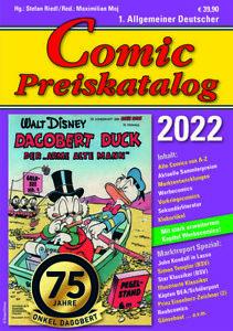 Neu Comic-Preiskatalog 2022 Hardcover Ende Oktober Vorbestellung + Bonus