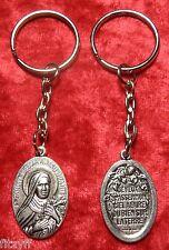 Sancta Teresia A Jesu Infante Keyring St Saint Teresa Infant Jesus Key Ring