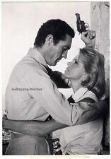 Frederick Stafford & Geneviève Cluny, Agent 505, Original-Photo von ca. 1965