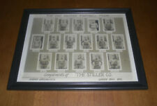 1925 GREEN BAY PACKERS FRAMED FOOTBALL TEAM PRINT