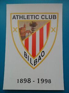 1998-Nº36-37-TARJETAS DEL CORREO PREFRANQUEADAS-CENTENARIO ATHLETIC CLUB BILBAO