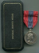 Medal Imperial Service Medal E2 Process & General Supervisor Ministry of Defence