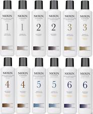 Nioxin 1/2/3/4/5/6 Shampoo 10.1oz & Scalp Conditioner 10.1oz Set