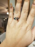 vantel pearls Mermaid Tail Ring Size 7