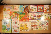 RICHARD SCARRY BOOKS for Children Hardcover/Paperback/Board Vintage Lot of 18