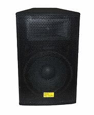 "SONIC PRO AUDIO - DMW-4615 - 15"" 250W Woofer Wooden Carpet Cabinet"