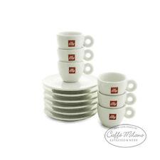 illy Espressotassen mit Unterteller - 6 Stück - Caffe Milano