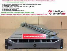Dell PowerEdge R720XD 2x E5-2670 64GB H710P/1GB 2x 750W 2x 300GB SAS 2U Server