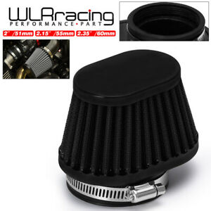 Universal High airflow Oval Air Filter Motorcycle Carb 55mm 2.15'' Intake Filter