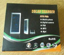 Solar 2 LED USB Cargador Batería Externa Teléfono Móvil