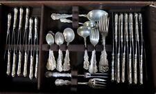 Vintage Birks Sterling Silver Flatware, Service for Twelve