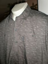 NWT ROCAWEAR CLASSIC FIT MULTI-COLOR S/S FULL BUTTONED DRESS SHIRT SZ:3XB 3XL 3X