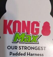 New KONG MAX PADDED DOG HARNESS - Red - MEDIUM - M