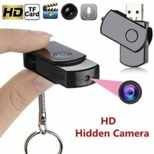 New Mini USB Flash Drive Pinhole Hidden Camera U-Disk DVR Cam HD Video Recorder