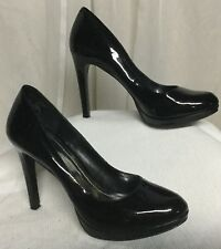 BCBGeneration High Heel Shoes Black Patent Leather Size 10 M Shoes Pumps Nice