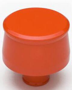 Trans-Dapt 9953 Push In Style Aluminium Breather Cap Chevy Orange Powder Coated