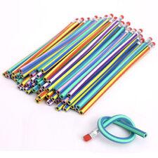 Stylos et crayons de bureau multicolores en plastique