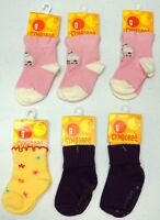 NWT LOT OF 6 SOCKS GYMBOREE POODLE DOG Girls 3-12M NEW Pink Yellow Purple  TWINS