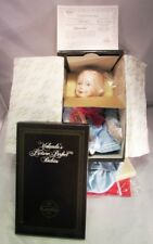 Ashton-Drake Galleries Yolnada'S Amanda Porcelain Doll With Coa - New In Box!