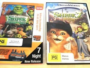 Shrek & Shrek 2 DVD